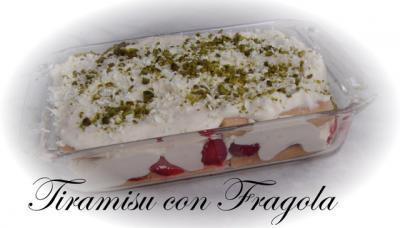 tiramisu con fragola erdbeer tiramisu