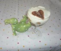 tiramisu im glas dessert oder kuchen