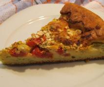 tomaten mozzarella kuchen