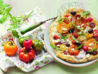 tomaten flammkuchen