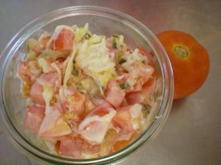 tomaten kraut salat