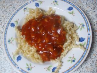 tomatensoße mit champignons