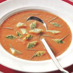 tomatensuppe mit eierstich — rezepte suchen