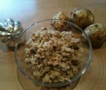 topinambur salat super lecker