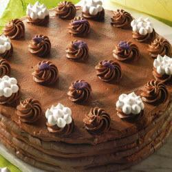 torte mit mousse au chocolat