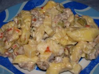 tortellinisalat sweet and spicy
