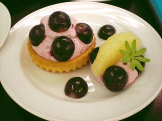 traubencreme dessert