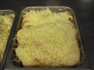überbackene enchiladas mit hackfleisch füllung