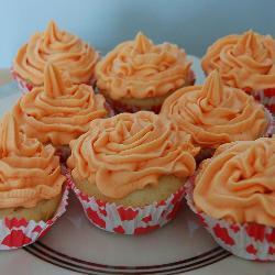 vanille cupcakes mit vanille buttercreme