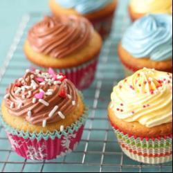 vanille und schoko cupcakes