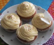 vanillefrosting für muffins oder kuchen