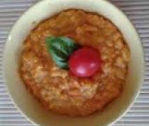 variation von curry möhren risotto