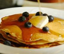variation von pancakes amerikanische eierkuchen