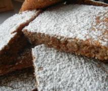 variation von schneller schoko nuß blechkuchen