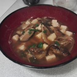 vegane sauer scharfe suppe auf chinesische art