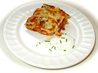 vegetarische lasagne aus pfannkuchen rezepte suchen. Black Bedroom Furniture Sets. Home Design Ideas