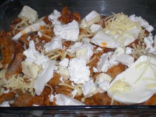 vier käse röstfleisch