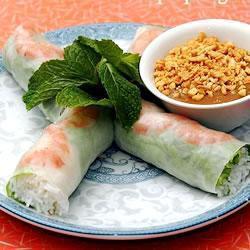 vietnamesische frühlingsrollen glücksrollen