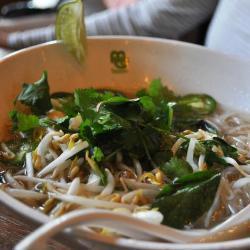 vietnamesische rindersuppe pho