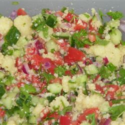 vollkorn couscous salat taboulé