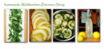 waldmeister zitronen sirup