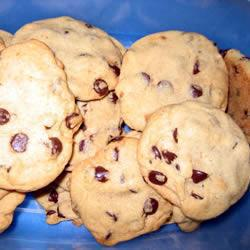 weiche chocolate chip cookies