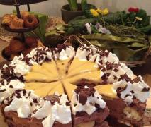 windbeutel schokoladen torte