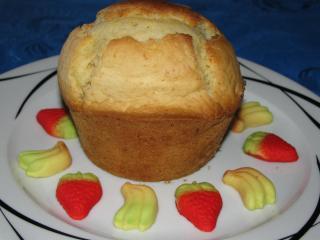 xxl bananenjoghurt erdbeerpudding muffins fettarm