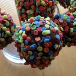 zitronen cake pops