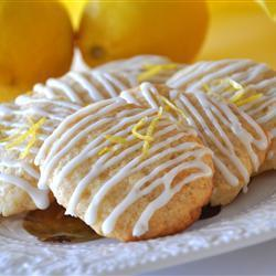 zitronen cookies lemon cookies