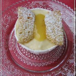 zitronen mohn cupcakes mit schmetterling