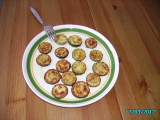 zucchini gebacken