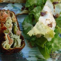 zucchini lachs terrine