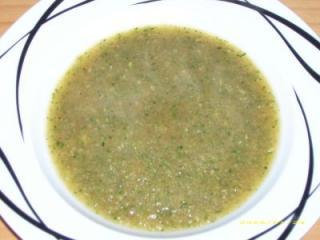 zucchinisuppe wenig fett aber lecker