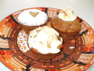 zweierlei saftige dinkel muffins