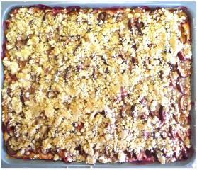 zwetschgenkuchen vom blech mit streusel