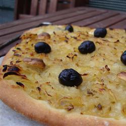 zwiebelkuchen mit anchovis